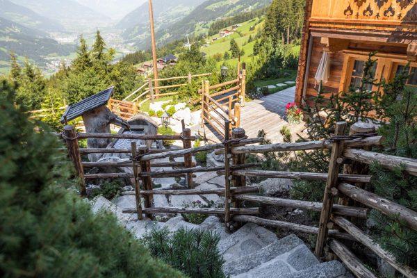 Alpine Gartengestaltung Zillertal